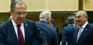 Министры иностранных дел,Россия,Турция