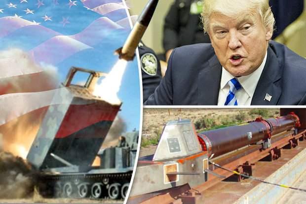 Новое оружие США