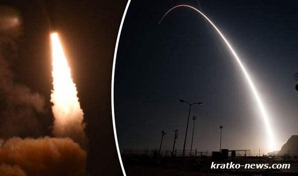 США Баллистическая ракета