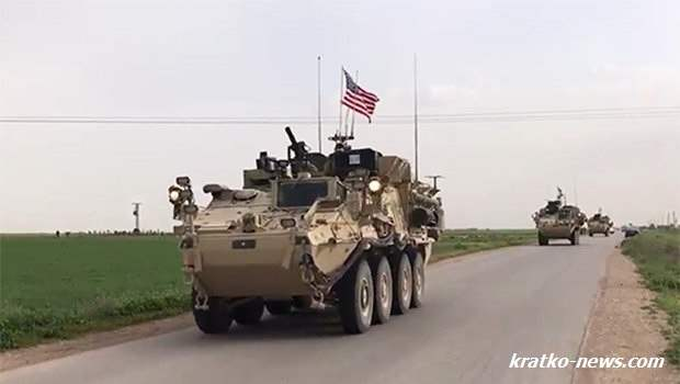 США начали сухопутную операцию в Сирии ?