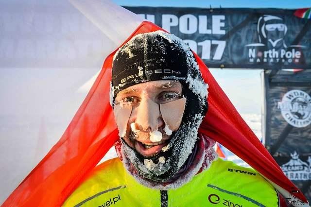 Северный полюс забег