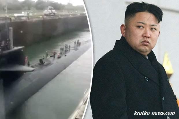 Атомная подводная лодка США прошла через Панамский канал