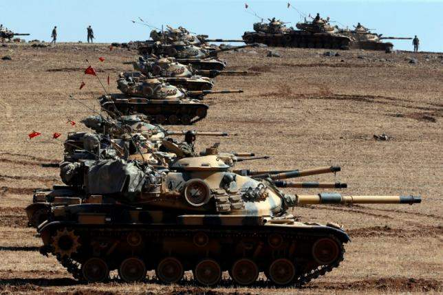 Turkish army Syria