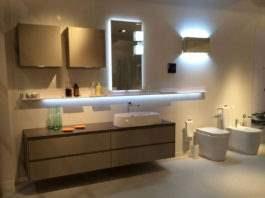 ванная освещение