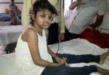 девочка Маугли Индия