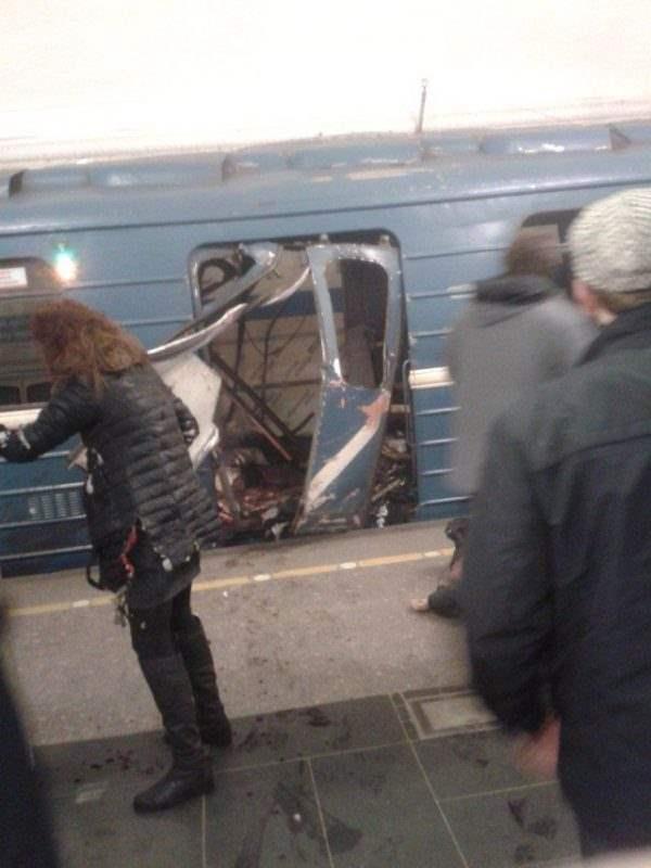 метро взрыв питер