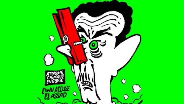 Charlie Hebdo asad