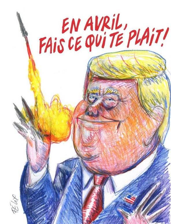 Charlie Hebdo trump
