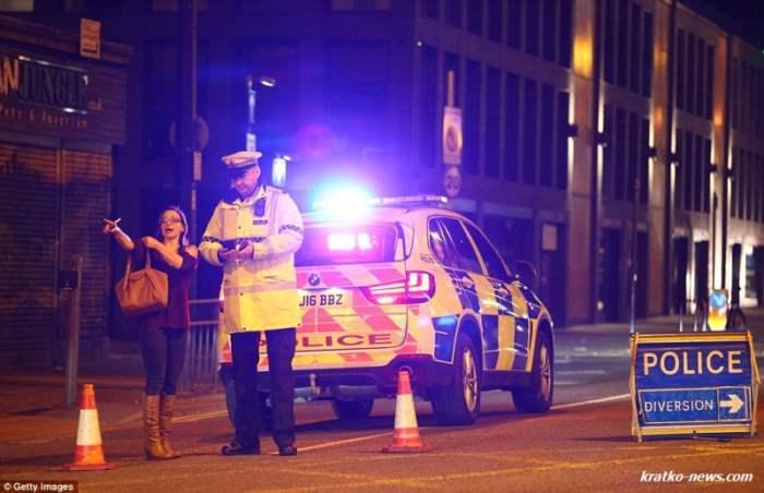 Взрывы Манчестер Арена