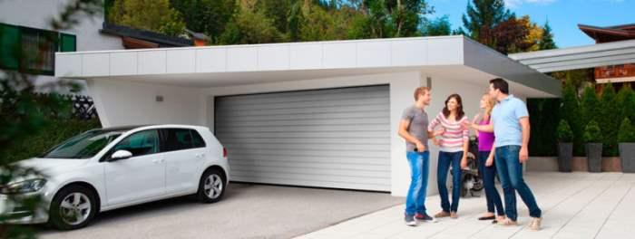 Ворота гараж