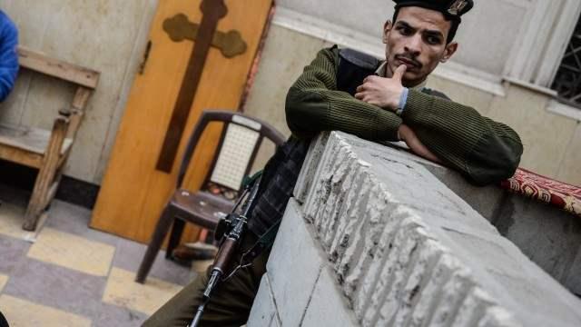 Египет расстрел