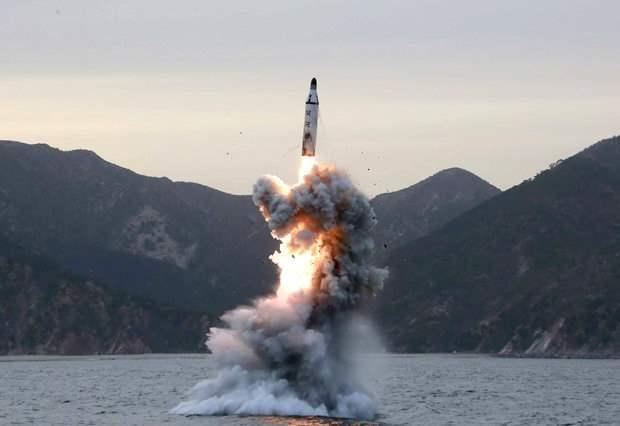Запуск ракеты КНДР (2)