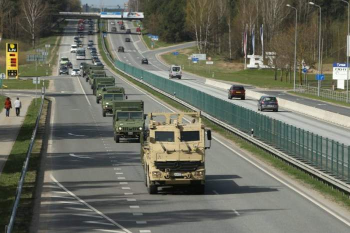 Канадские военные транспортные средства