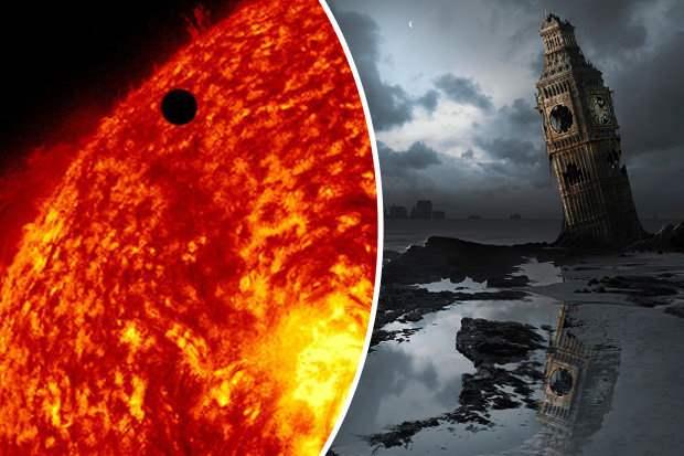 Корональная дыра на Солнце