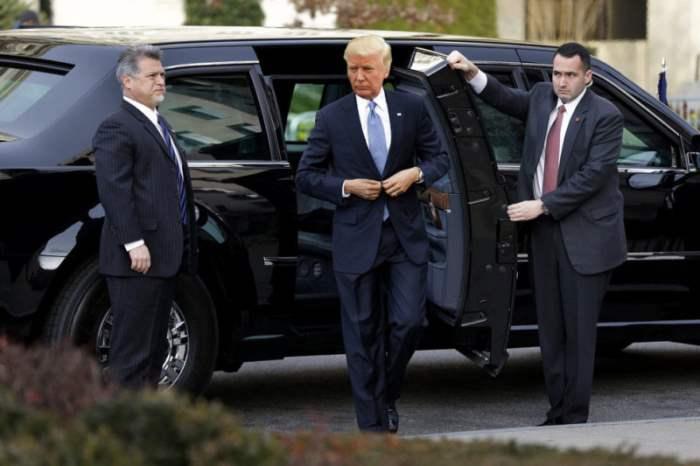 Лимузин Трампа