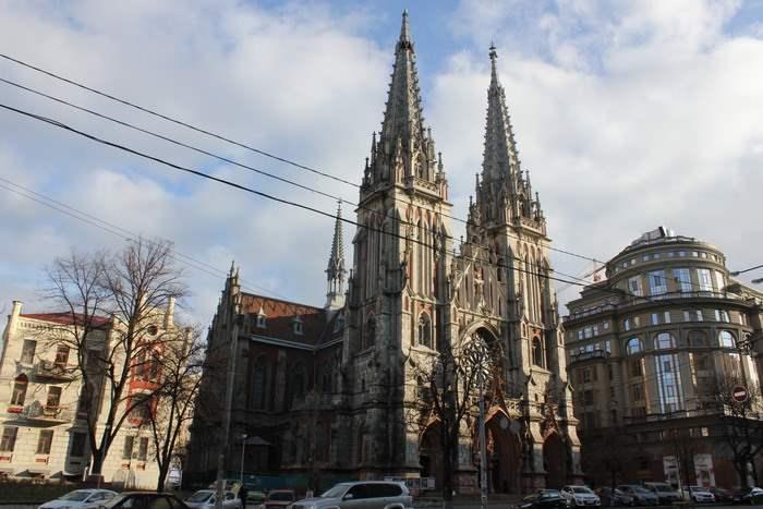 Николаевский костел, Киев