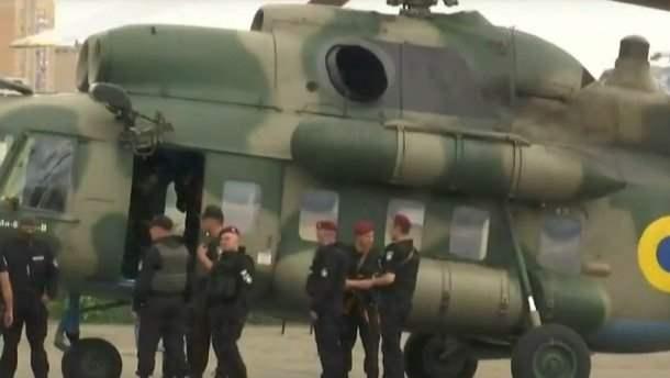 Операция задержания Украина