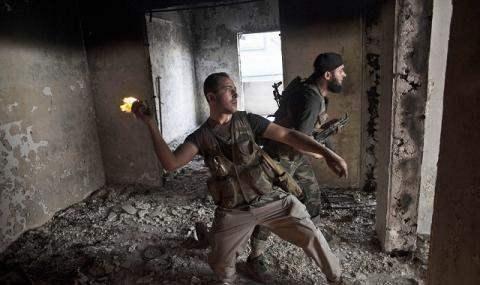 Повстанцы Сирия