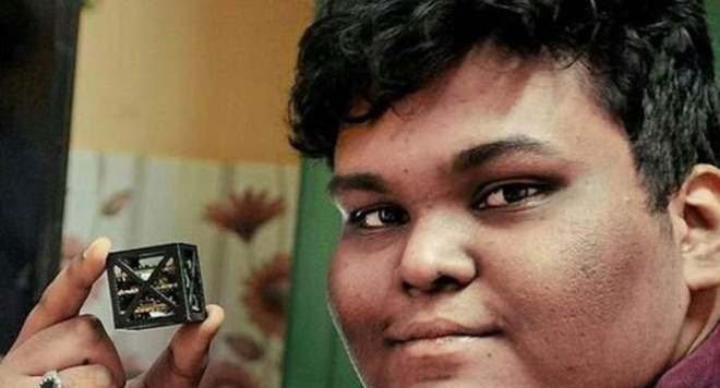 Подросток спутник Индия