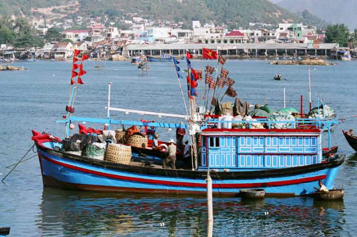 Рыбный промысел Вьетнам