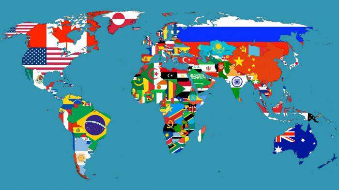 Сколько стран в мире ?