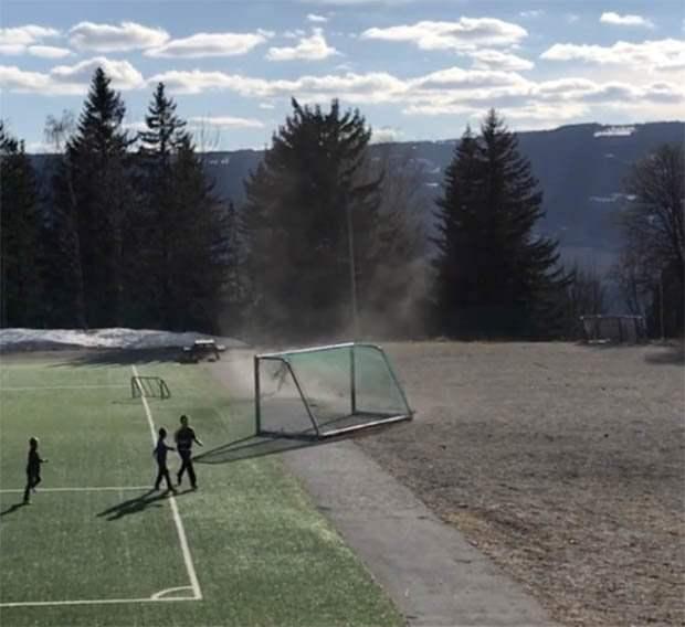 Торнадо в Норвегии