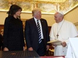 Трамп в Ватикане