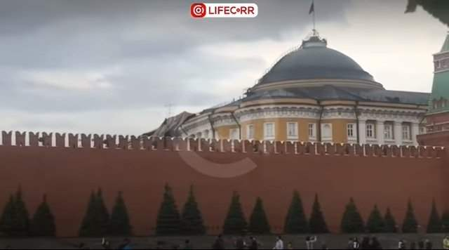 крыша Кремль