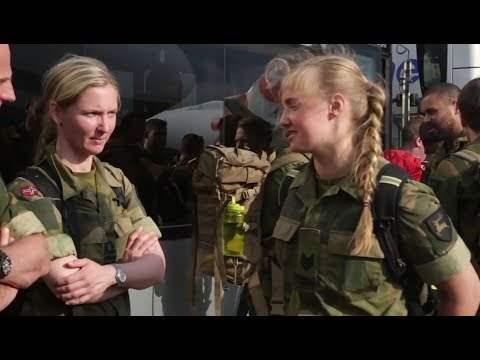 солдаты из Норвегии