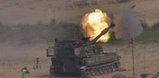 стрельба на границе корей