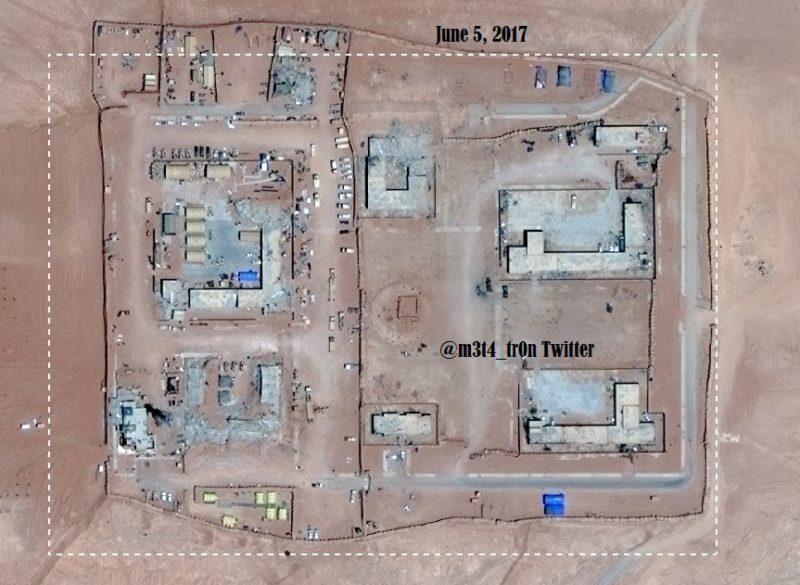 Военная база США Сирия