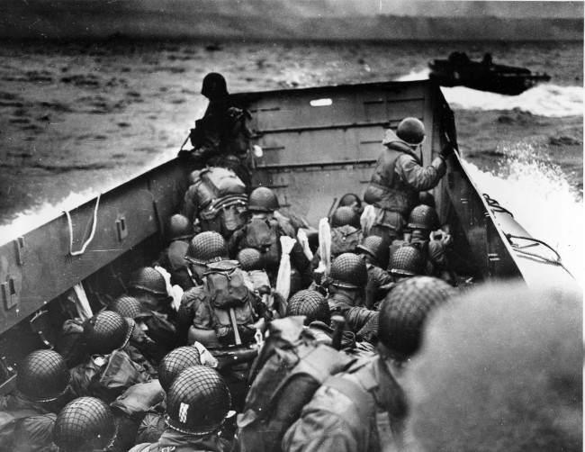 Высадка в Нормандии 6 июня 1944