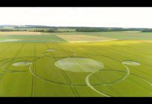 Круги на поле. Франция.