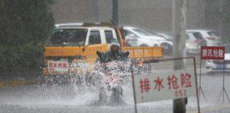 Ливень Китай