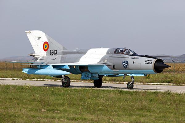 МИГ-21 Румыния