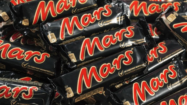 Марс шоколад