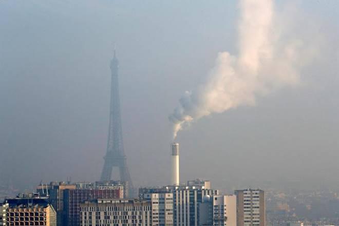 Париж загрязнение воздуха