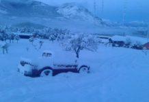 Снег в Чили