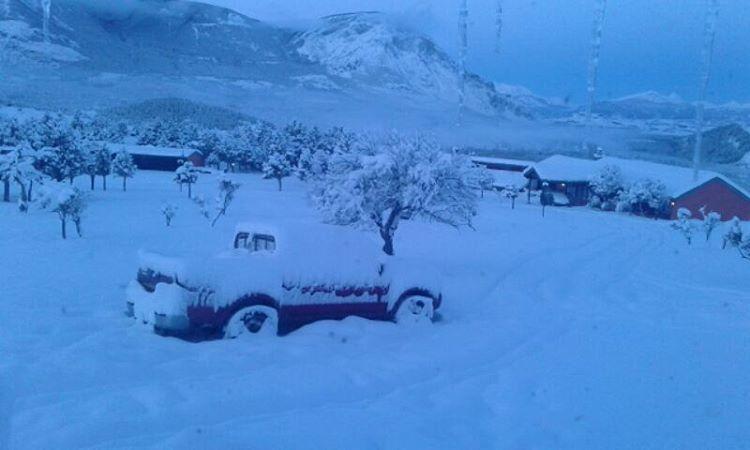 В Чили снова наступила зима (фото и видео)