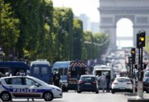 Столкновение в Париже