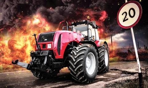 Тракторный туризм Беларусь