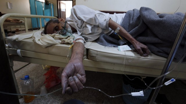 Холера Йемен