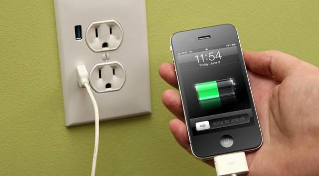 зарядка телефона