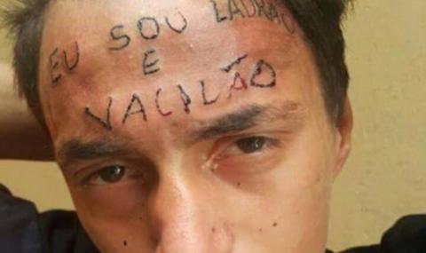 Татуировщик поймал и заклеймил молодого вора
