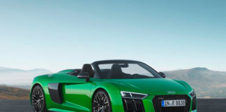 Audi V10 R8 Spyder Plus