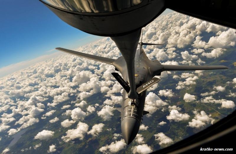 Над Латвией летал сверхзвуковой бомбардировщик B-1B Lancer (фото)