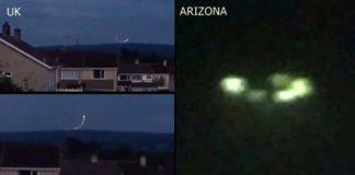 glowing ufo atlantic