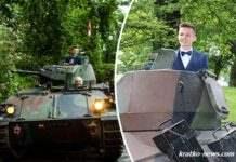 Выпускной на танке