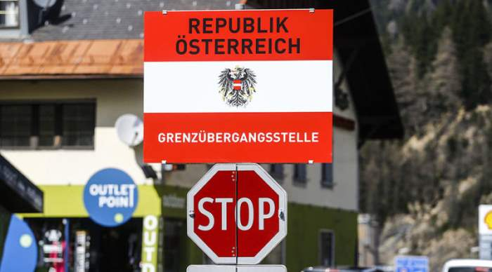 Граница Австрии и Италии