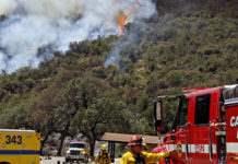 Калифорния лесной пожар